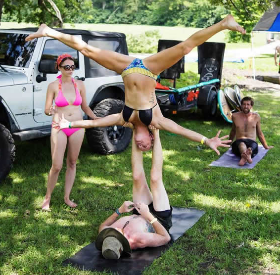 Memories from Breathe: A Slacklining and Discovery Festival