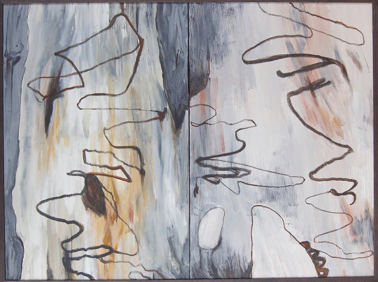 Scribbly Bark 1 by Gay Emmerson