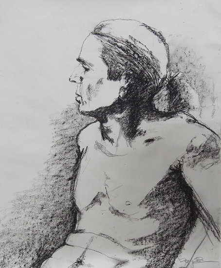 Figure study by Gay Emmerson