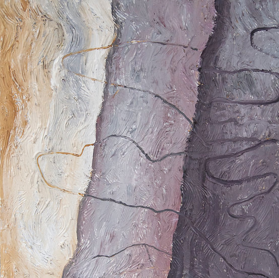 Scribbly Bark 3 by Gay Emmerson