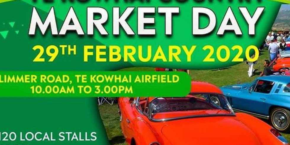 Te Kowhai Country Market Day and Summer Fly-in