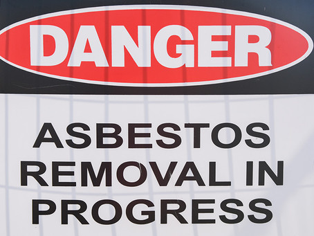 Asbestos - is my property safe?