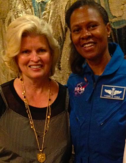 DrSonnee_My friend astronaut Col. Yvonne