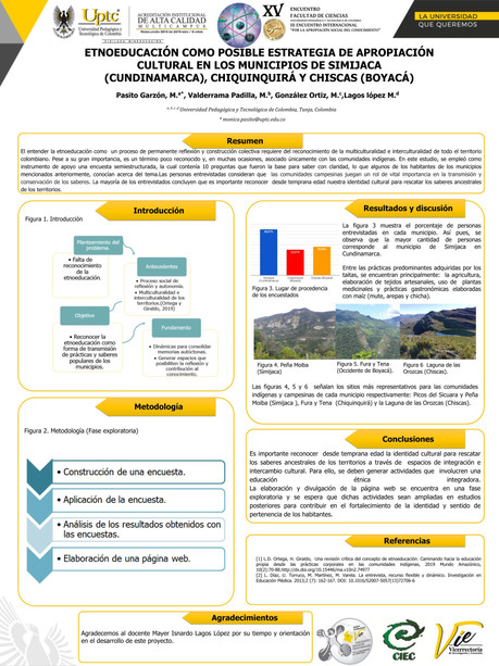 Etnoeducación Como Estrategia De Apropiación Cultural En Los Municipios De Simijaca (Cundinamarca), Chiquinquirá Y Chiscas (Boyacá).