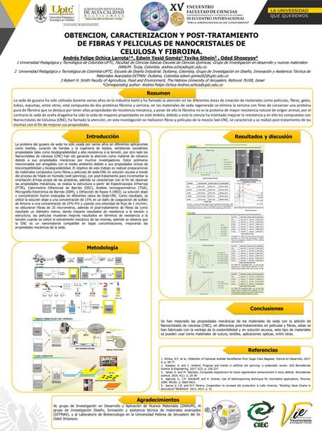 Obtencion, Caracterizacion Y Post-Tratamiento De Fibras Y Peliculas De Nanocristales De Celulosa Y Fibroina