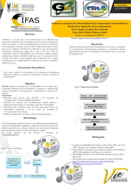 Analizar la situación de informalidad de los empresarios intermediarios y productores agrícolas de Coomproriente