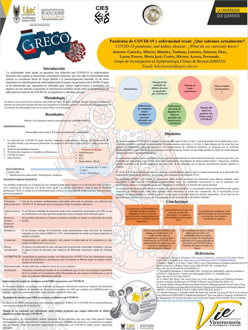 COVID-19 y enfermedad renal: ¿Qué sabemos actualmente?