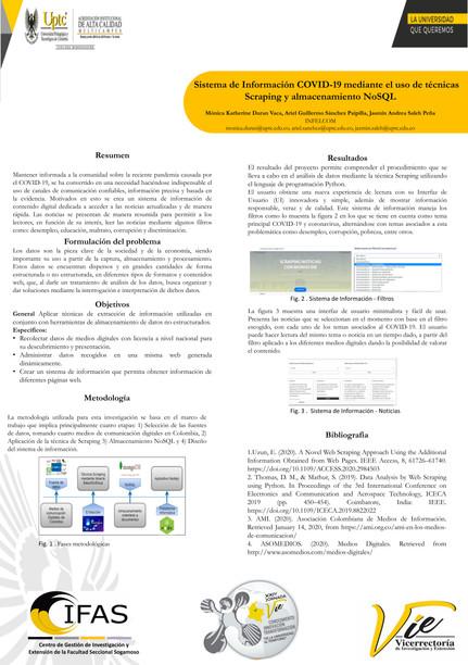 Sistema de información COVID-19 mediante el uso de técnicas scraping y almacenamiento NoSQL