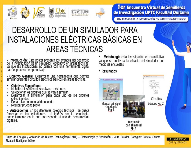 Desarrollo de un simulador para instalaciones eléctricas básicas en áreas técnicas
