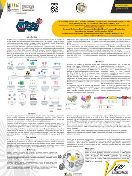 Vacuna Peptídica Multiepítope Contra el Sars-Cov-2 Dirigida a la Población Latinoamericana: Un Enfoque Inmunoinformático