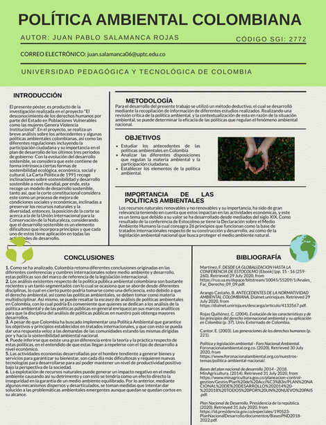 Política Ambiental Colombiana