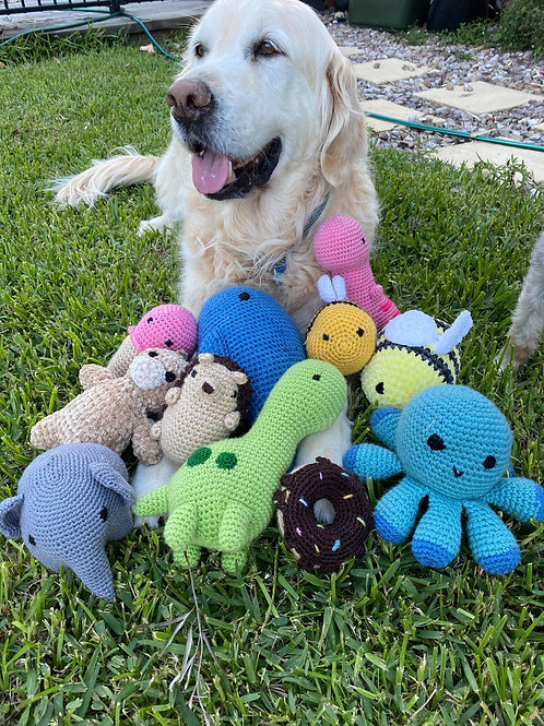 Handmade Dog Toys