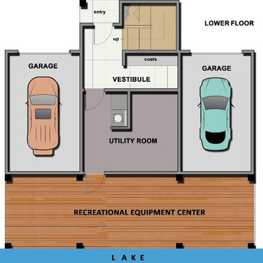 Floor plan cottage mews sample