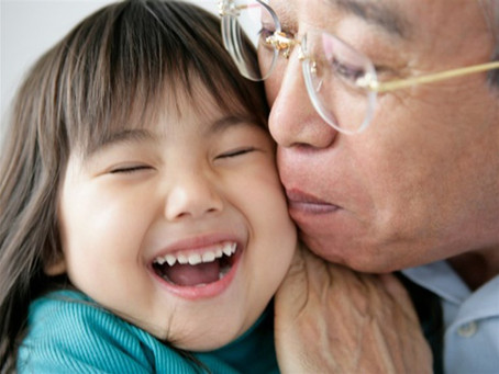 Why raising your kids around grandparents is so beneficial.