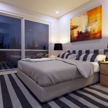 Mews interior bedroom sample