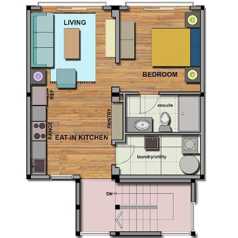 Mews floor plan sample