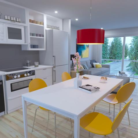 Mews interior kitchen sample
