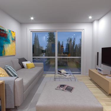 Mews interior living room sample