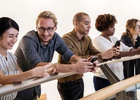 Platforms that Millennials use to communicate