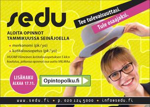 Sedu Lisähaku 2014