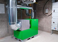 RMV TECH T30BG Microturbine Assembly Work To The Tampere City Energy Grid