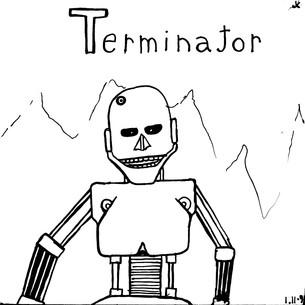 drawing_1991_note_terminator_skeleton.jp