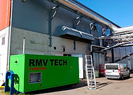 RMV TECH Start Piloting Microturbine With Unpurified Biogas In Lakeuden Etappi Biogas Plant