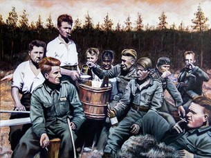 Kesä 1941: Vilho Kristola Taistelutovereineen