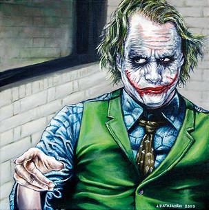 Heath Ledger's Joker