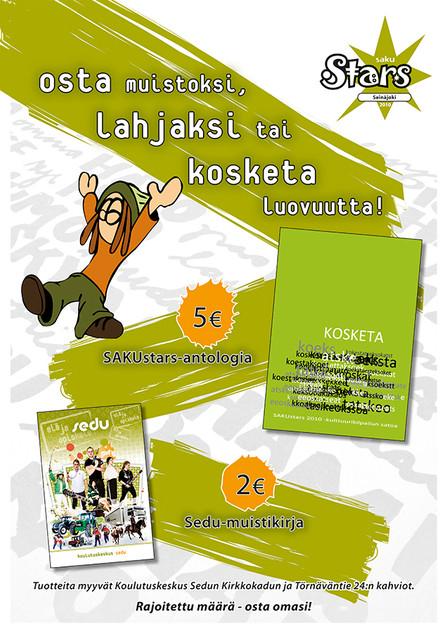 SakuStars2010: Tuotteet