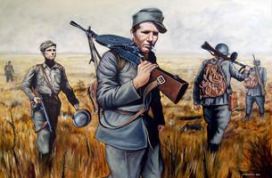 Vilho Kristola Kaukopartiossa 1944