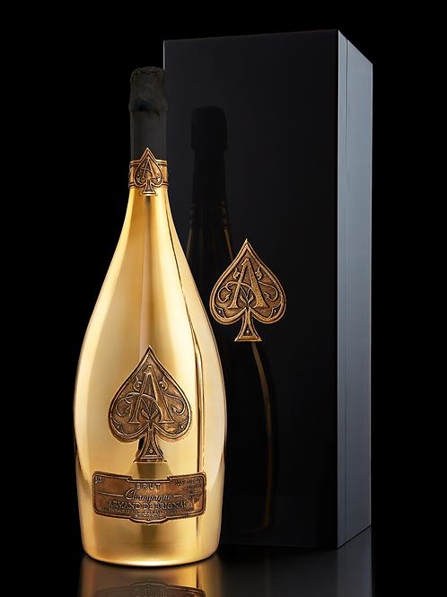 Armand de Brignac Champagne, Brut Gold, Jeroboam