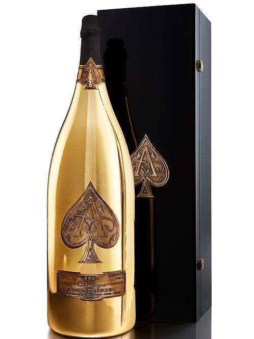 Armand de Brignac Champagne Brut Gold, Nebuchadnezzar, 15Lt