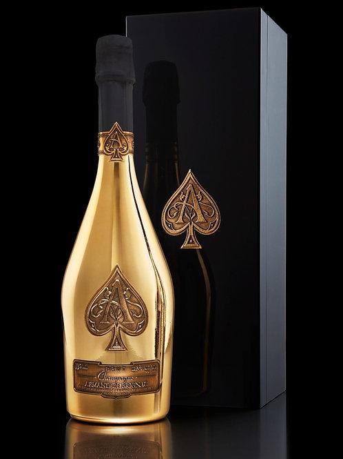 Armand de Brignac Champagne, Brut Gold, 750ml