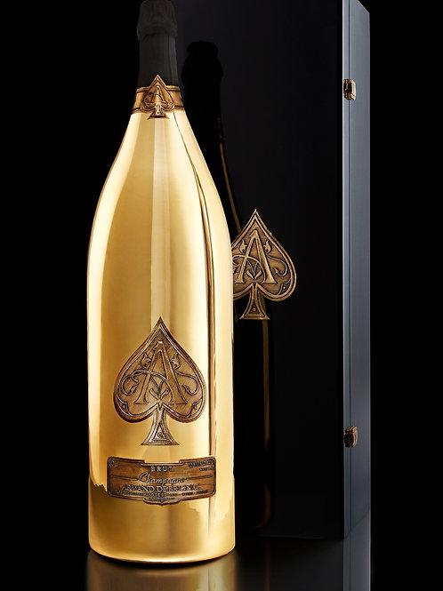 Armand de Brignac Champagne Brut Gold, Midas,  30Lt