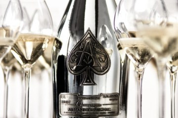 Armand De Brignac Blanc De Blancs Voted #1 Champagne In The world In The 2020 BWW Competition.