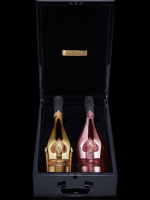 Les Jumelles d'Armand de Brignac, Twin pack Brut Gold and Brut Rosé