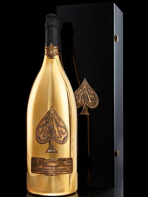 Armand de Brignac Champagne Brut Gold, Salmanzar, 9L