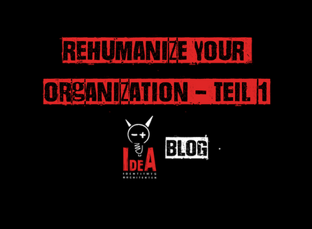 Rehumanize your Organization I