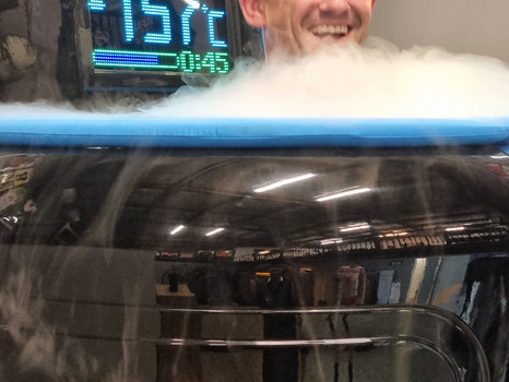 Cryotherapy for chronic pain and inflammation