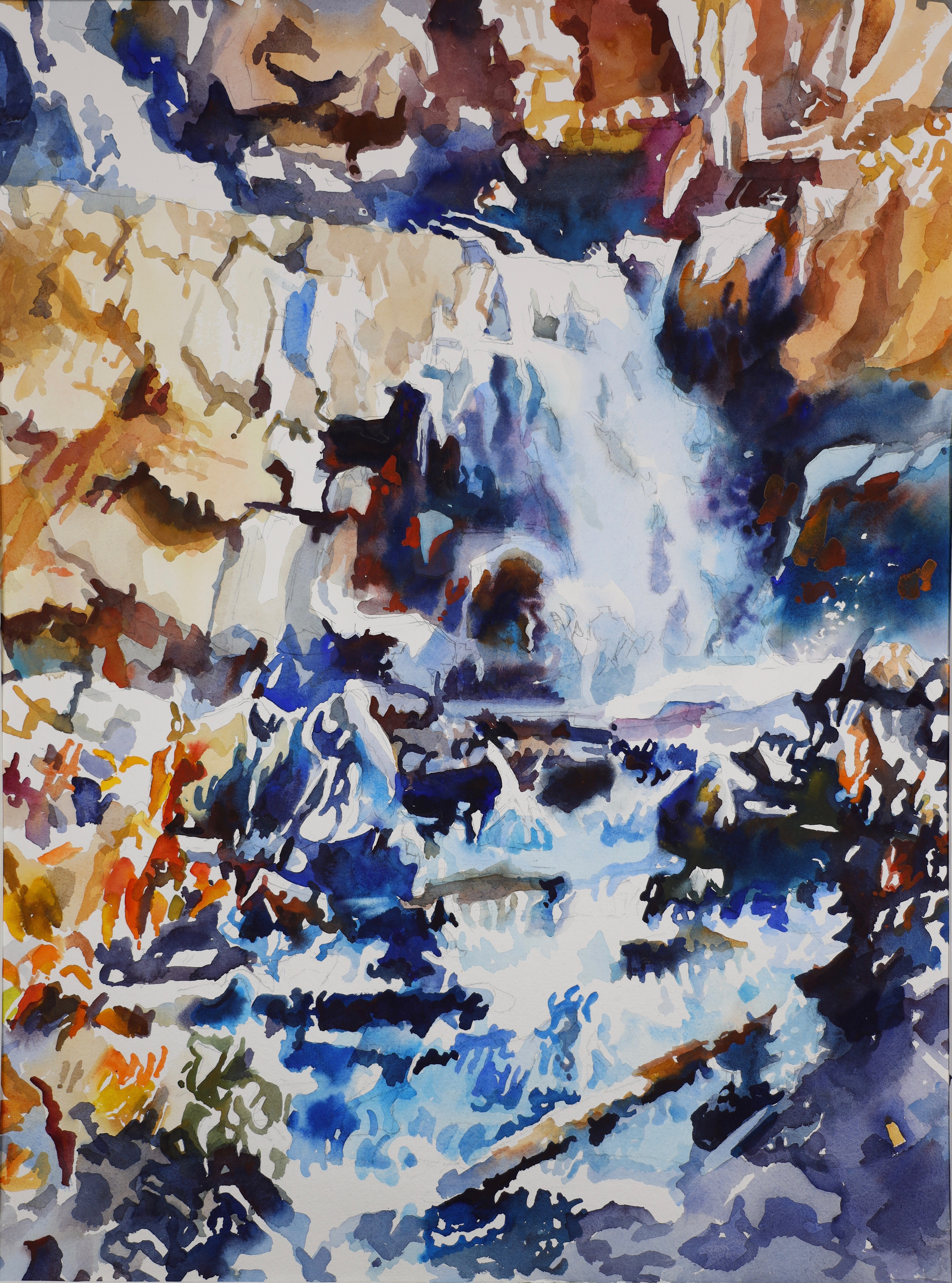 Approaching Banff