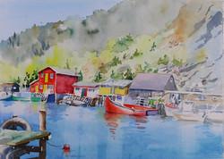 Quidi Vidi Harbour, Nfld