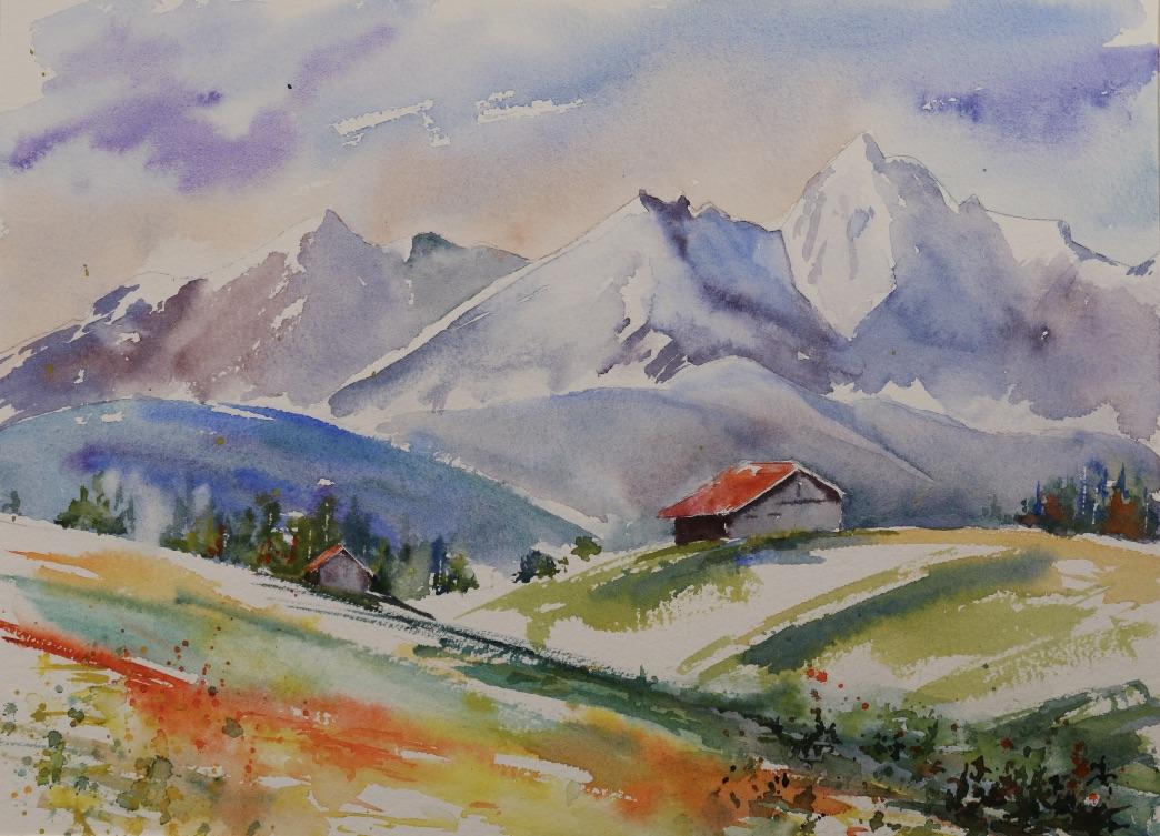 Bavarian Alpine Hut