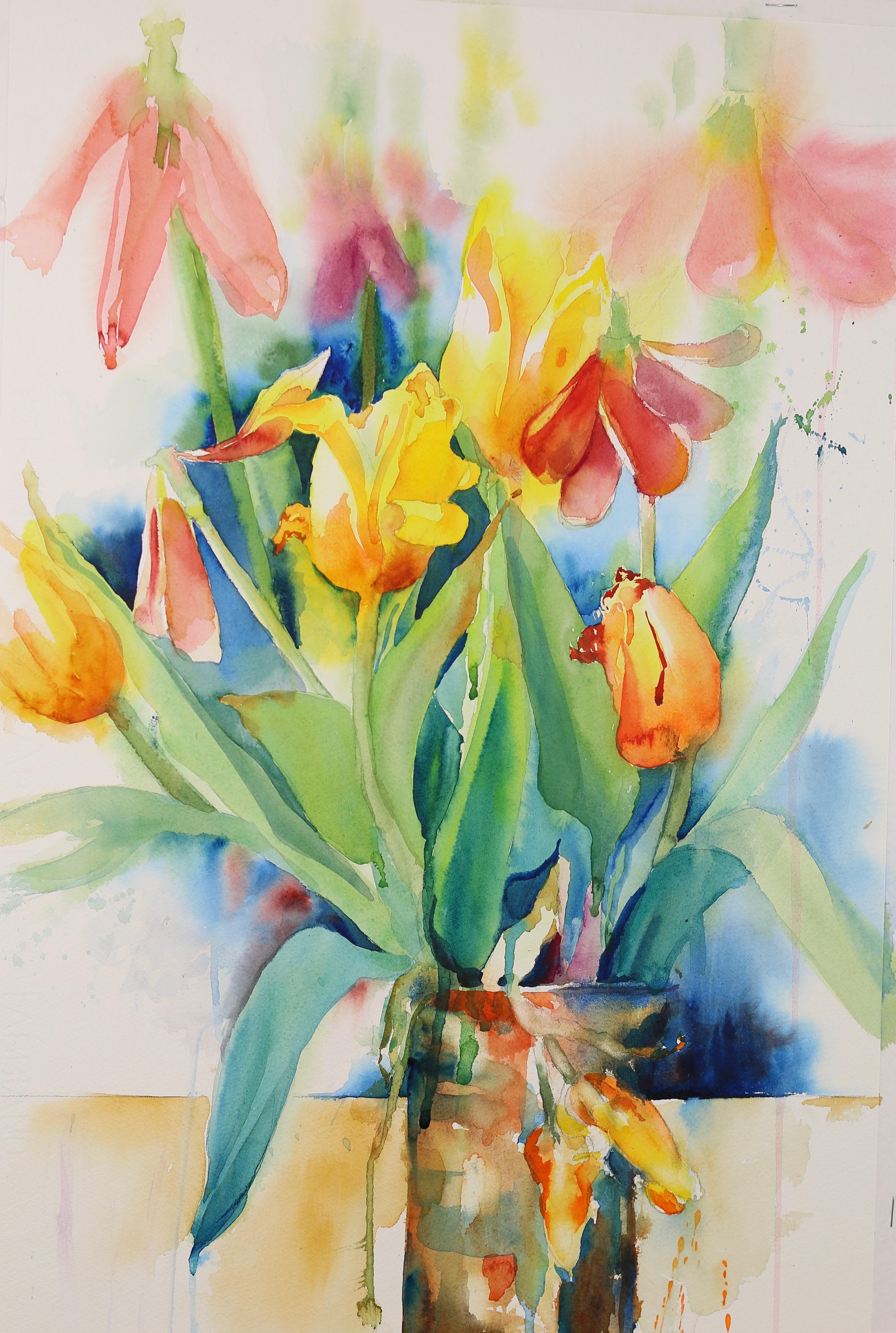 Aging Tulips