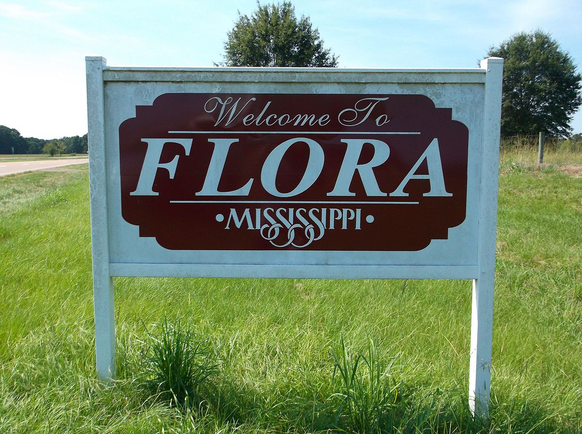 FloraMSWelcomeSign