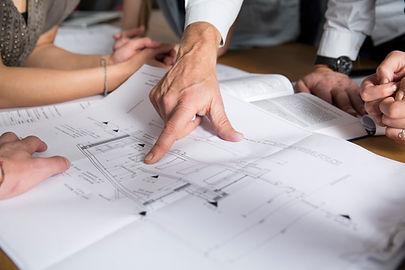 Planos de construção
