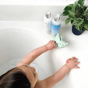 baby with shampoo.JPG