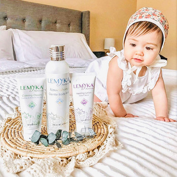 Baby girl with Lemyka products.JPG