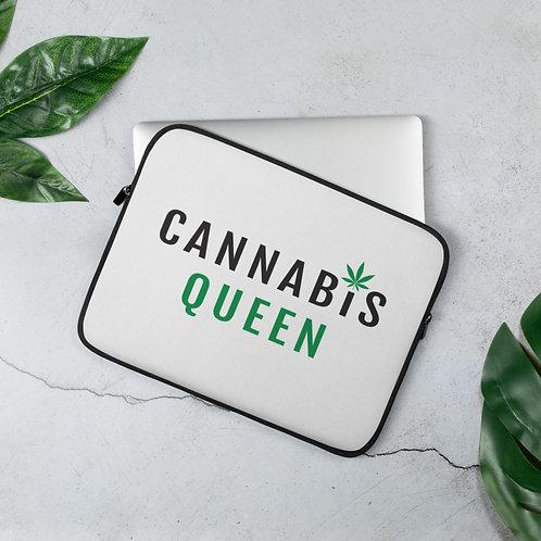 Cannab*s Queen Laptop Sleeve