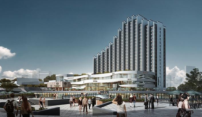 Plan d'aménagement Dingxin HOPSCA à Zhenyuan